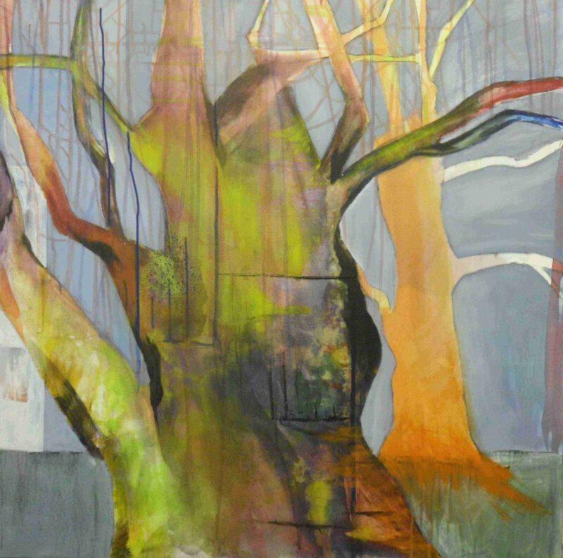 Schiesser, Acryl auf LW, 100 x 100, 2012